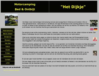 dijkje.nl screenshot