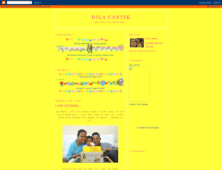 dilacantik.blogspot.com screenshot
