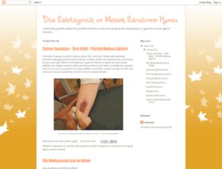 dilaestetisyenlikkursu.blogspot.com.tr screenshot