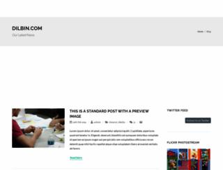 dilbin.com screenshot