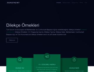 dilekceyaz.net screenshot