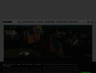 dilemaveche.ro screenshot
