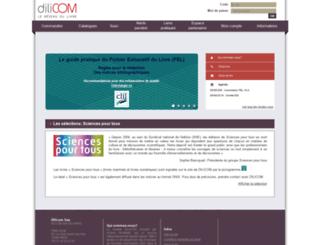 dilicom-prod.centprod.com screenshot