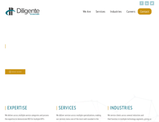 diligentetechnologies.com screenshot