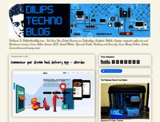 dilipstechnoblog.com screenshot