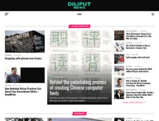 diliputnews.com screenshot
