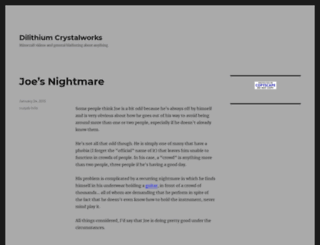 dilithiumcrystalworks.com screenshot
