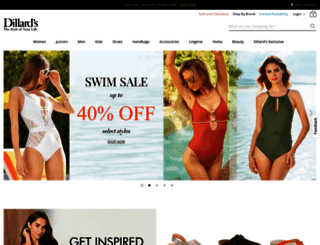 dillards.com screenshot