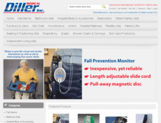 dillermedical.com screenshot