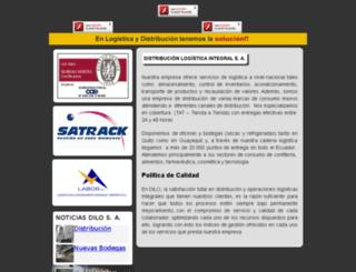 dilo-logistic.com screenshot