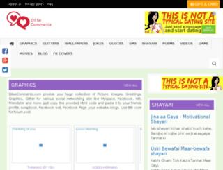 dilsecomments.com screenshot