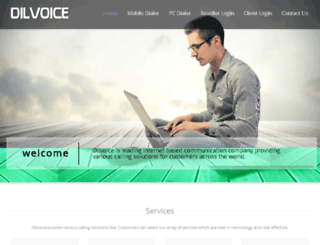 dilvoice.com screenshot
