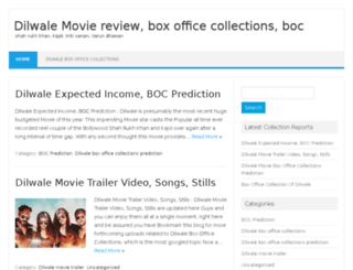 dilwaleboxofficecollections.net screenshot