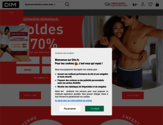 dim.fr screenshot