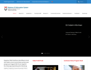 dim.telkomuniversity.ac.id screenshot