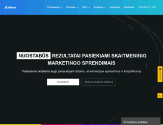 dimax.lt screenshot