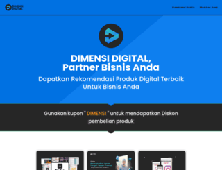 dimensidigital.com screenshot