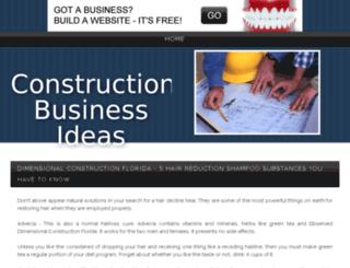 dimensionalconstruction.bravesites.com screenshot