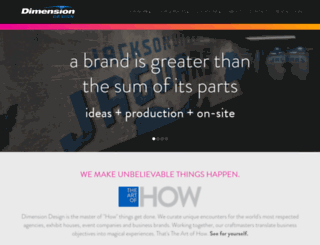 dimensiondesign.com screenshot