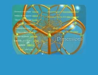 dimensions-math.org screenshot
