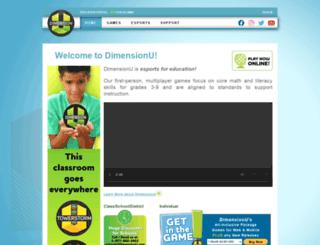 dimensionu.com screenshot