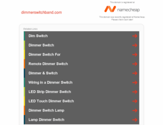 dimmerswitchband.com screenshot