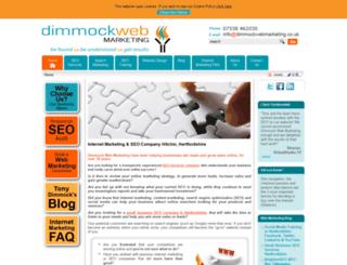 dimmockwebmarketing.co.uk screenshot