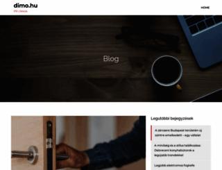 dimo.hu screenshot