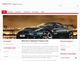 dimsporttuningtools.com screenshot