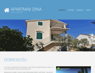 dina-apartmani.com screenshot
