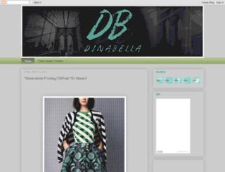dina-bella.blogspot.it screenshot