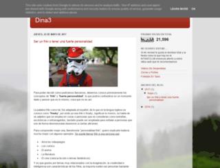 dina3.es screenshot