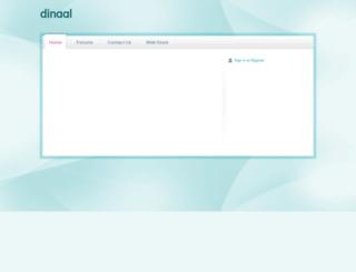 dinaal.webs.com screenshot