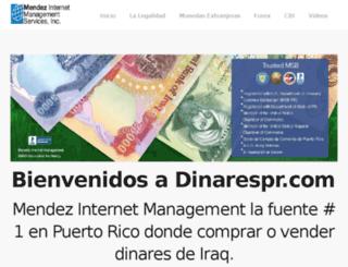 dinarespr.com screenshot