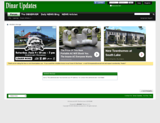 dinarupdates.com screenshot