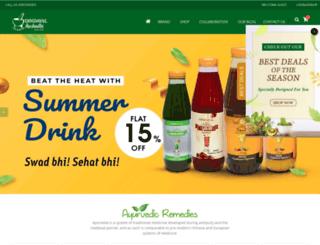 dindayalaushadhi.com screenshot