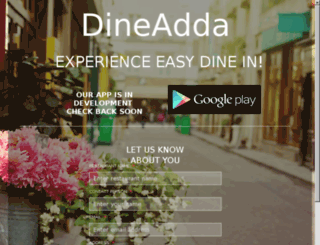 dineadda.com screenshot