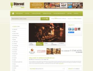 dineoutbahrain.com screenshot