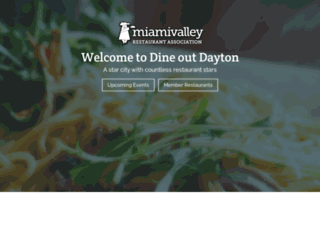 dineoutdayton.org screenshot
