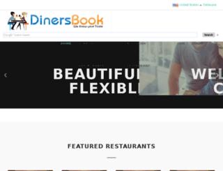 dinersbook.com screenshot