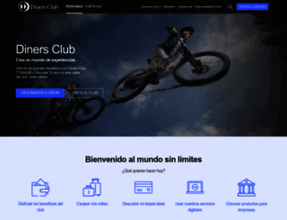 dinersclub.com.ec screenshot