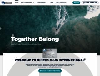 dinersclub.com screenshot