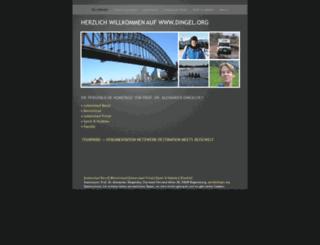 dingel.org screenshot
