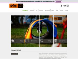 dingo-sport.com.pl screenshot