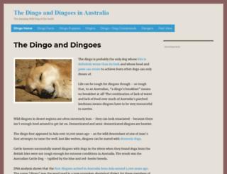 dingo.livingin-australia.com screenshot