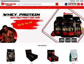 dinhduongthehinh.com screenshot