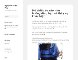 dinhphu.net screenshot
