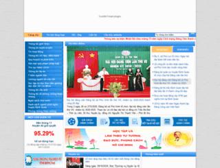 dinhquan.dongnai.gov.vn screenshot