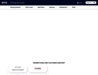 dining.byu.edu screenshot