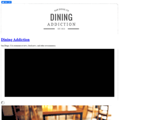 diningaddiction.com screenshot